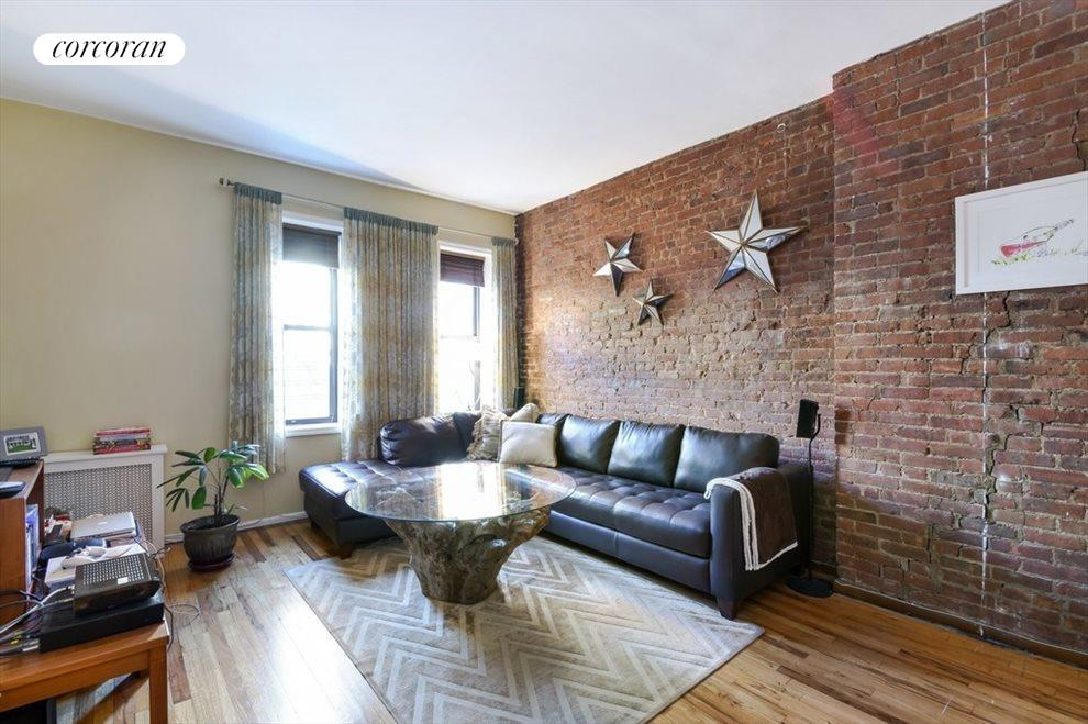 Warm exposed brick and steady north light