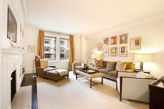 Corcoran 151 west 86th street apt 10c upper west side for Living room 86th st
