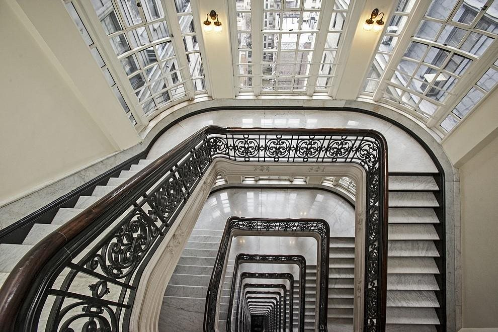 New York City Real Estate | View 2109 Broadway, #8-87 | Historic Marble Spiral Staircase