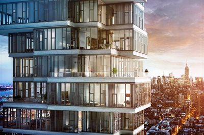 New York City Real Estate | View 56 LEONARD ST, #29B EAST | A Global Landmark designed by Herzog & de Meuron