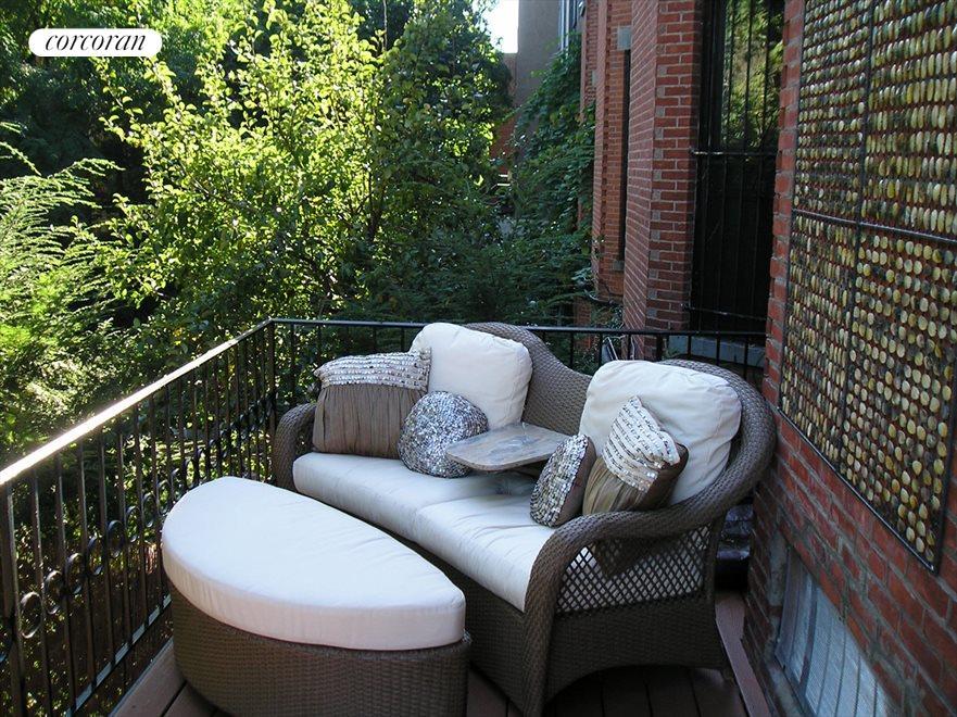 Terrace off Master Bedroom