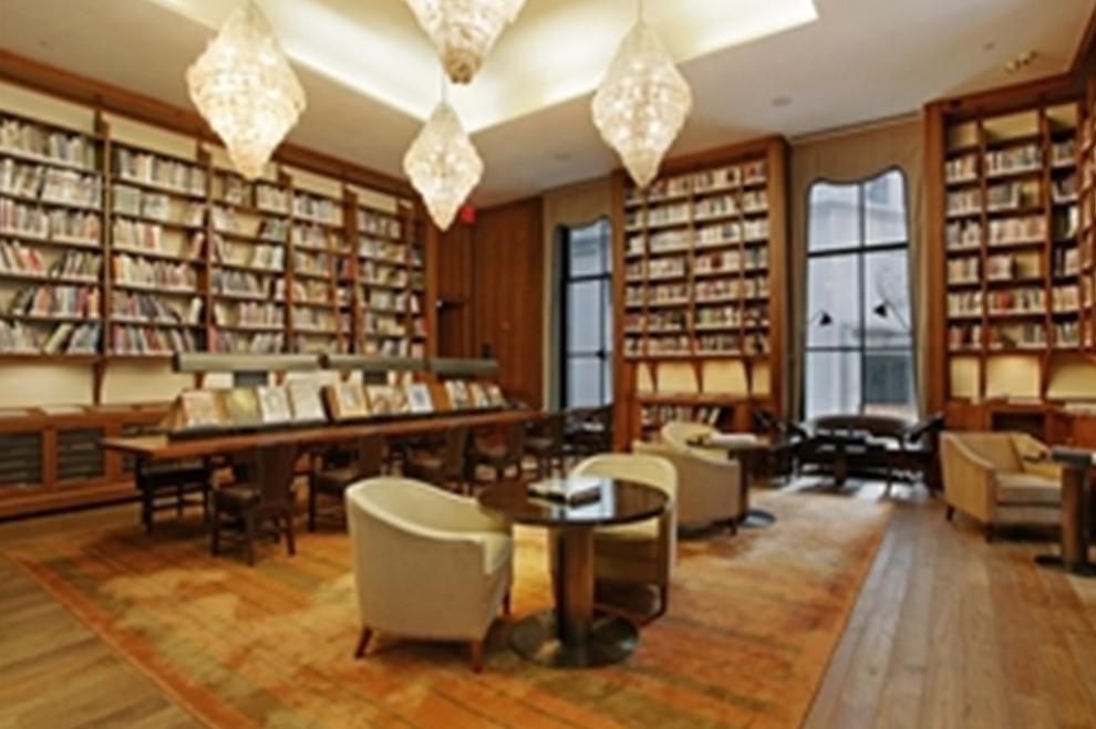 Stunning library - in addition to business center