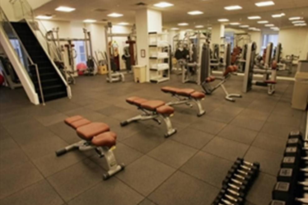 Two level fitness center