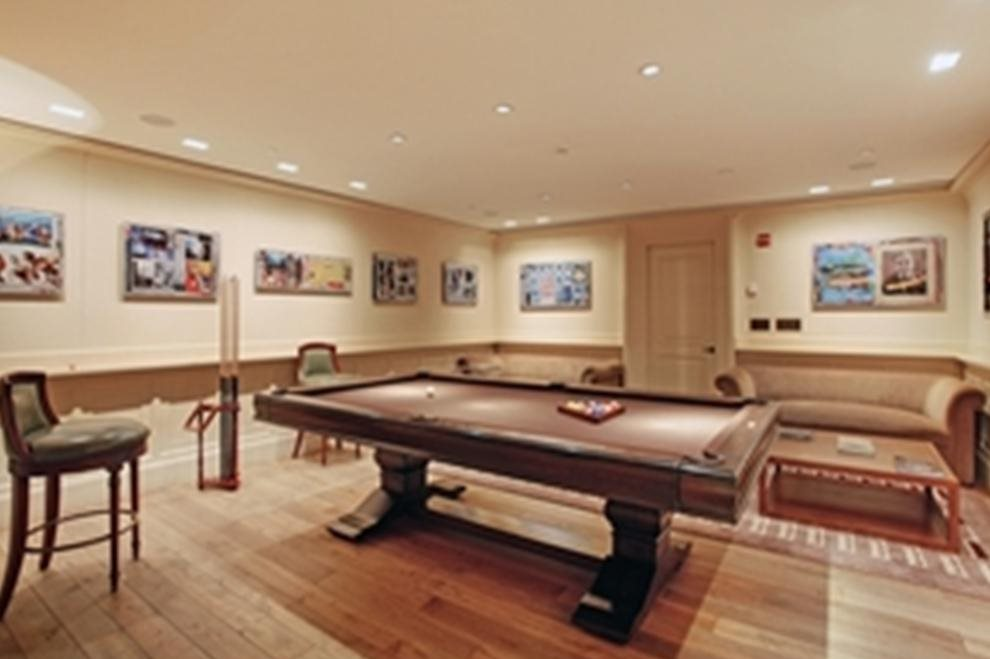 Billiards Room. There is also a wine vault!