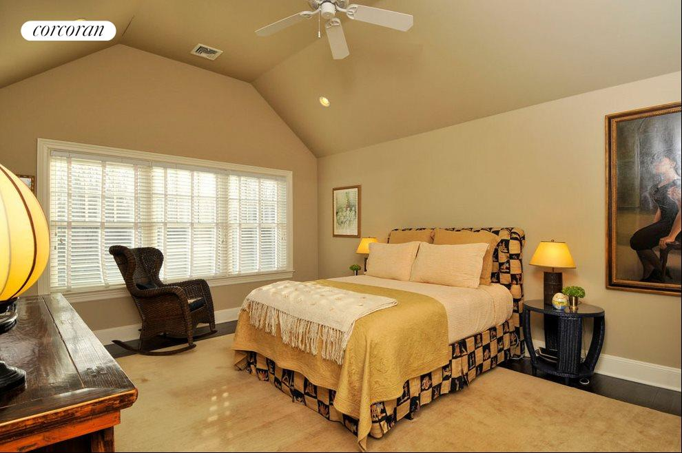 One of seven guest bedrooms