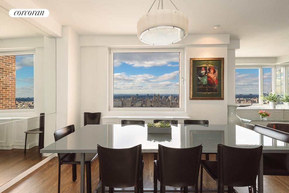 Dining Room with Central Park Views