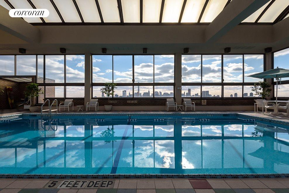 Olympic year round roof top pool