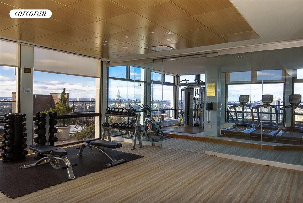 Fitness Center on the Roof
