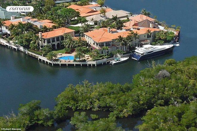 799 Sanctuary Drive, Aerial view of water frontage