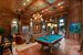 Custom pool table and built in aquarium
