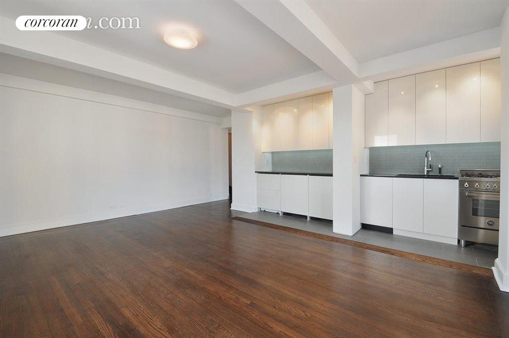 New York City Real Estate | View 200 East 16th Street, #14A | Kitchen / Living Room