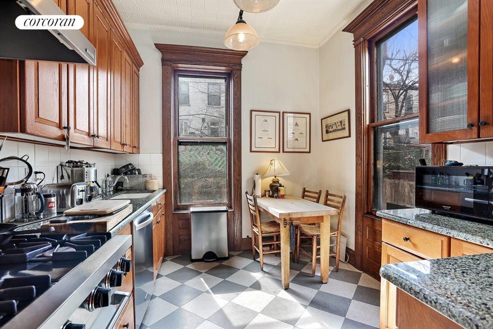 Windowed Kitchen