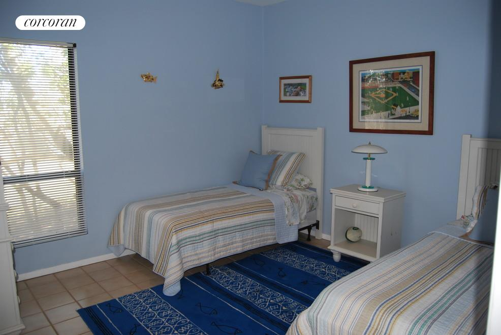 Sea Blue Twin Guest Bedroom