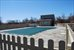 Pool and Poolhouse in Spring