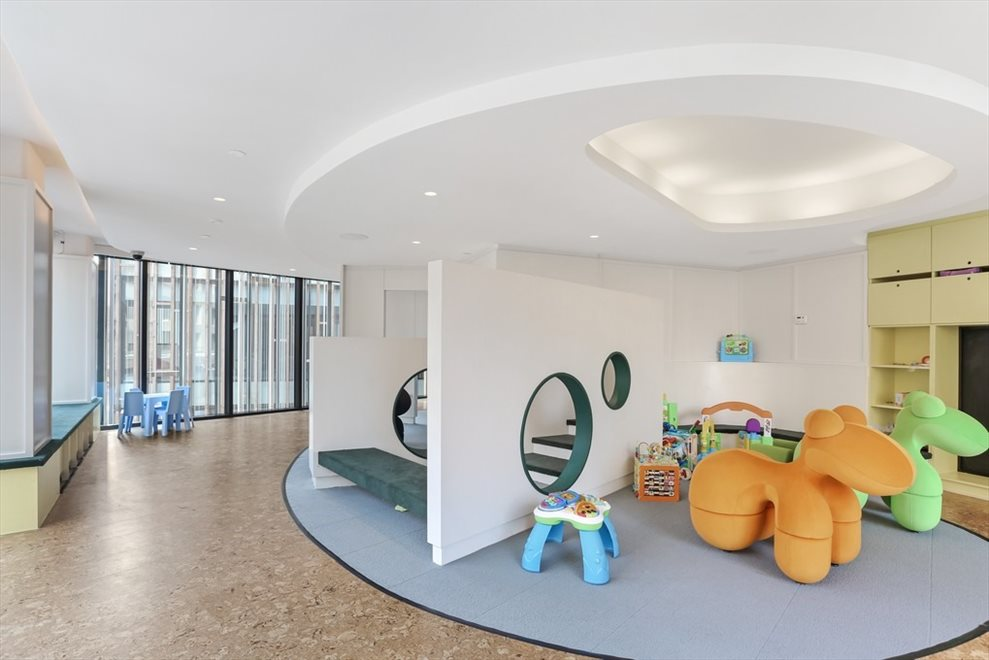 New York City Real Estate | View 130 Furman Street, #S111 | Children's Playroom