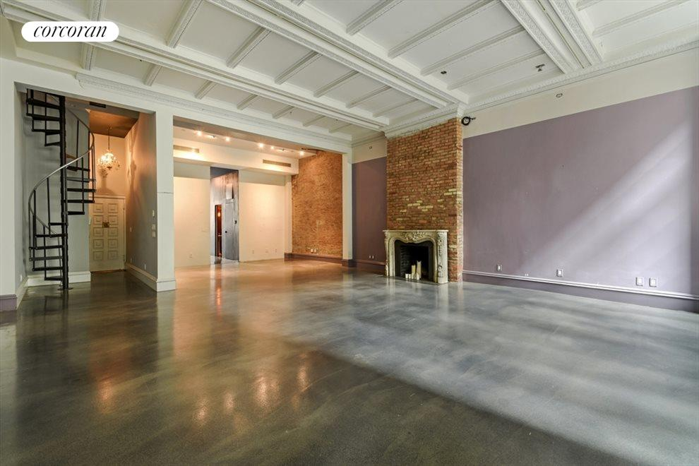 New York City Real Estate | View 13 Gramercy Park South, #2 FL | Living Room/Dining area