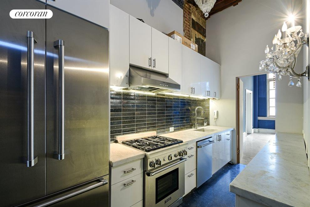 New York City Real Estate | View 13 Gramercy Park South, #2 FL | Renovated Kitchen