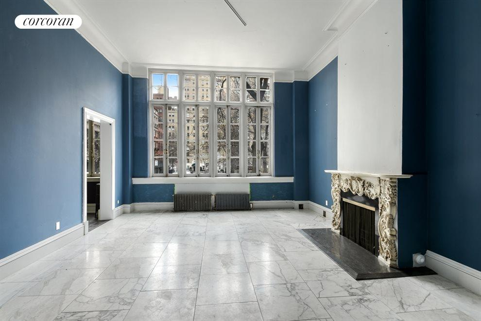 New York City Real Estate | View 13 Gramercy Park South, #2 FL | Front Parlor Facing Gramercy Park