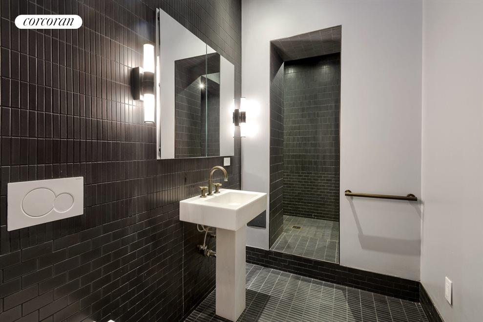 New York City Real Estate | View 13 Gramercy Park South, #2 FL | Upper level Bathroom