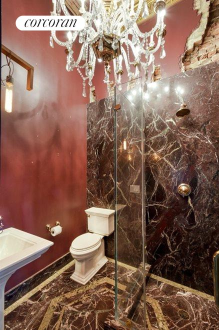 New York City Real Estate | View 13 Gramercy Park South, #2 FL | Bathroom on 1st level