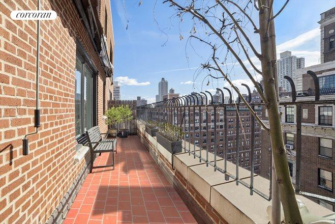 1120 Park Avenue, 16B, Sunny Terrace with Southern and Eastern Exposures