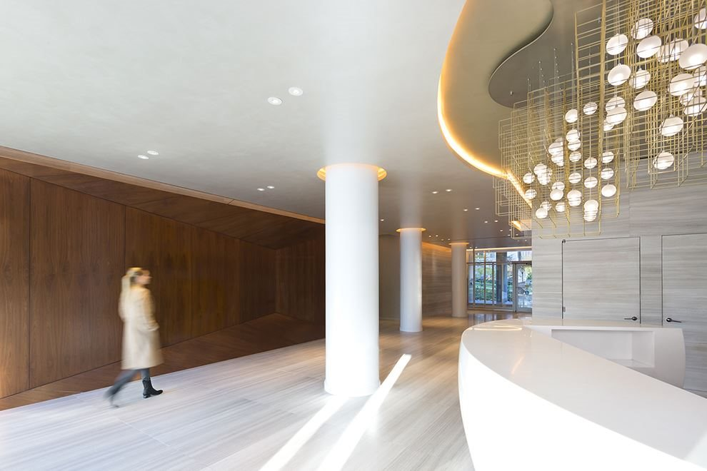 24-hour attended parkfront lobby