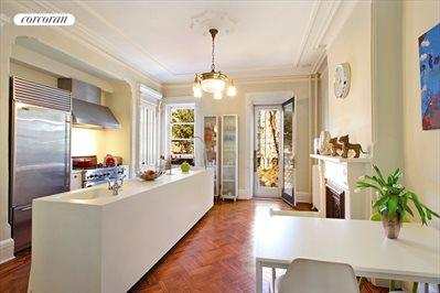 Lovely renovated eat-in kitchen