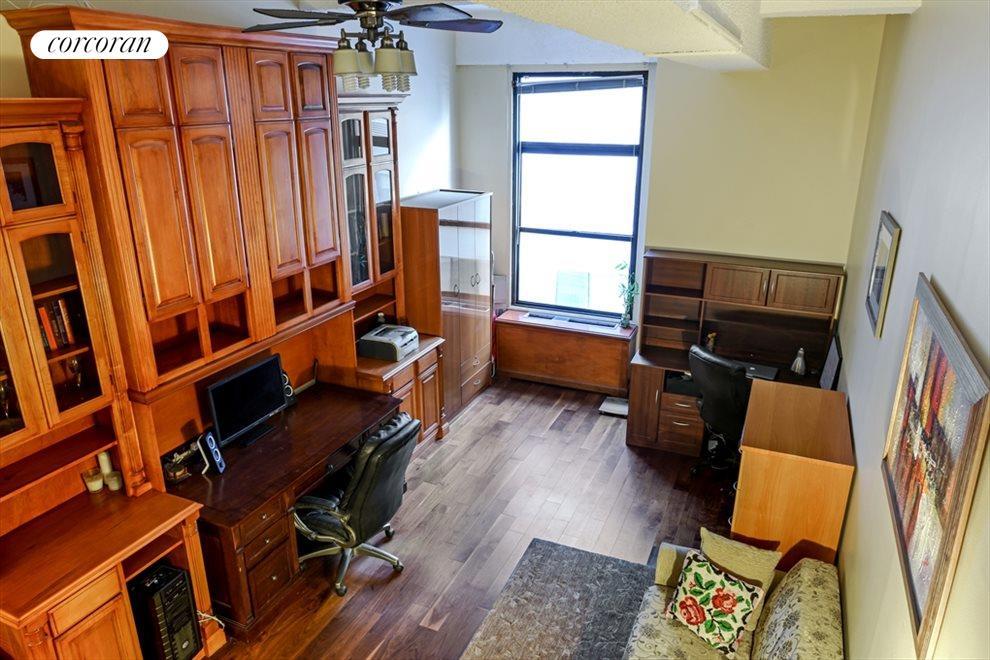 Oversized window, new floors