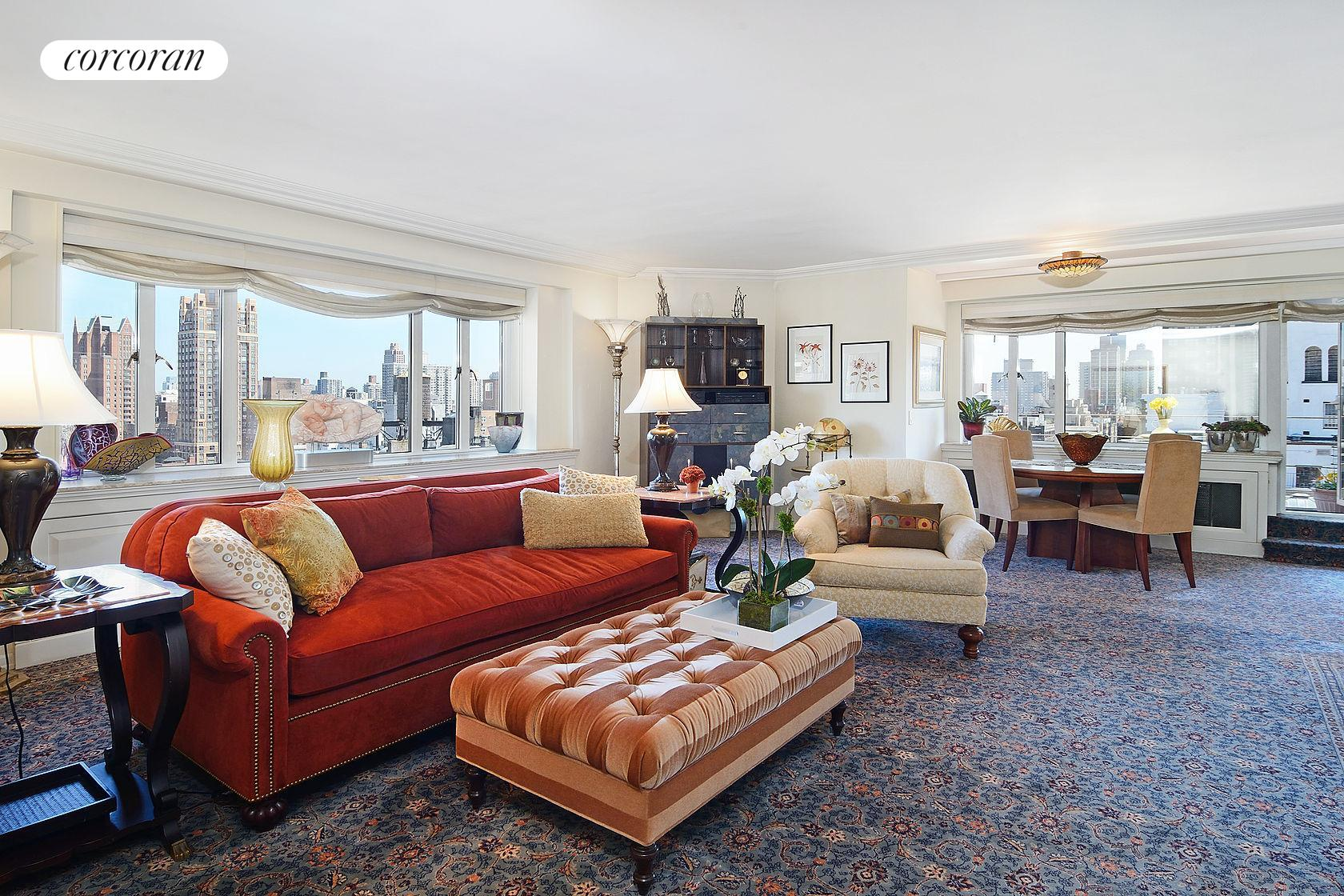 140 East 72, 21 FL, Living Room