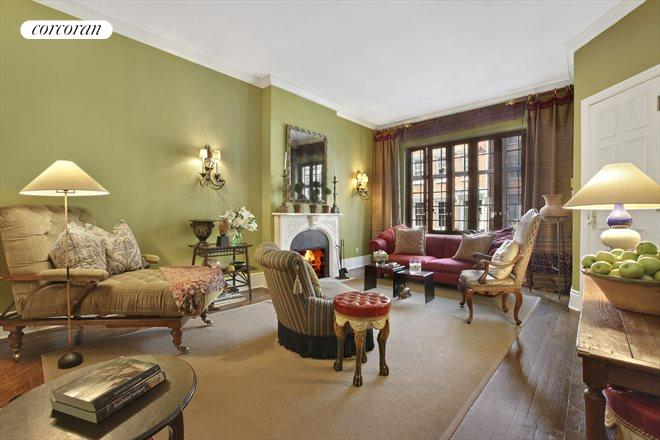 238 West 11th Street, 1, Elegant and grand w wood burning fireplace
