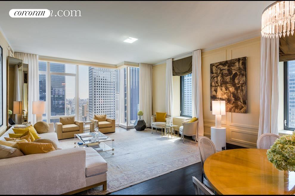 20 West 53rd Street, 35A, Living Room