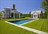 gunite pool and pool house