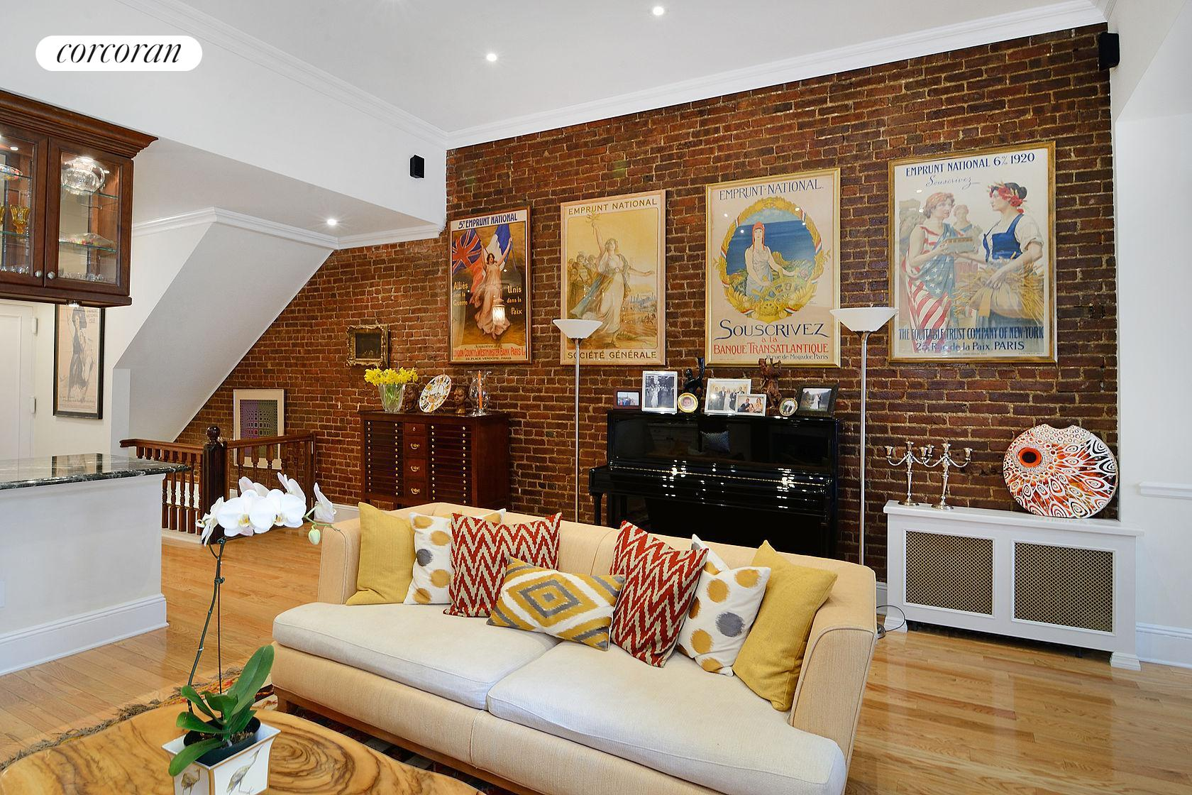 119 West 82nd Street, 1, Living Room