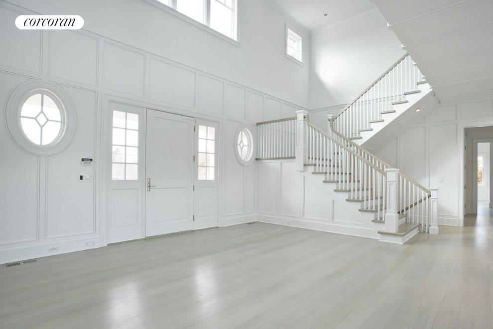 double height entry hall