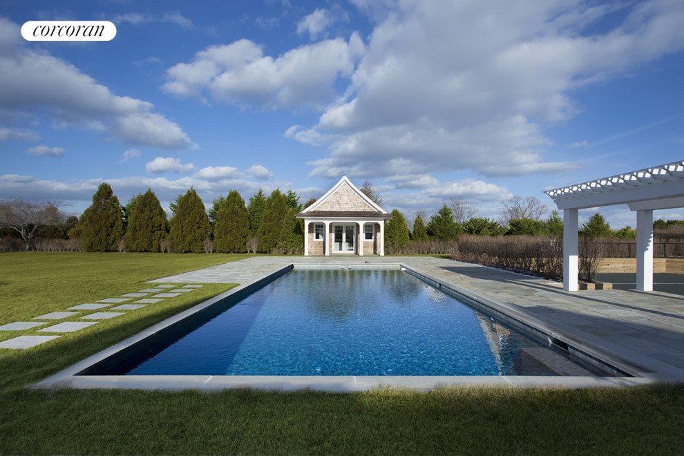 gunite pool,spa and pool house