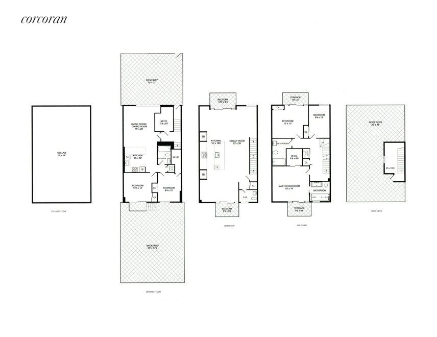 New York City Real Estate | View 346 Van Brunt Street | Floor Plan