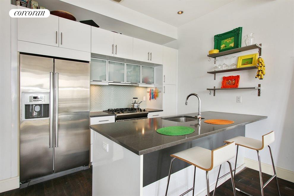 New York City Real Estate | View 655 Washington Avenue, #5A | Luxurious, Impeccably Designed Kitchen