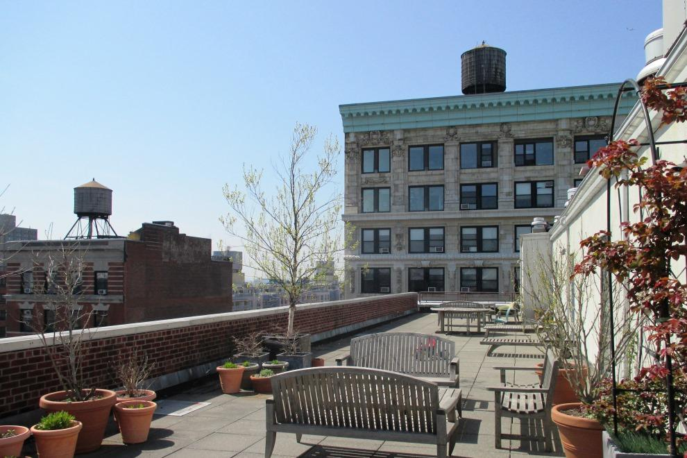 Common Rooftop Terrace