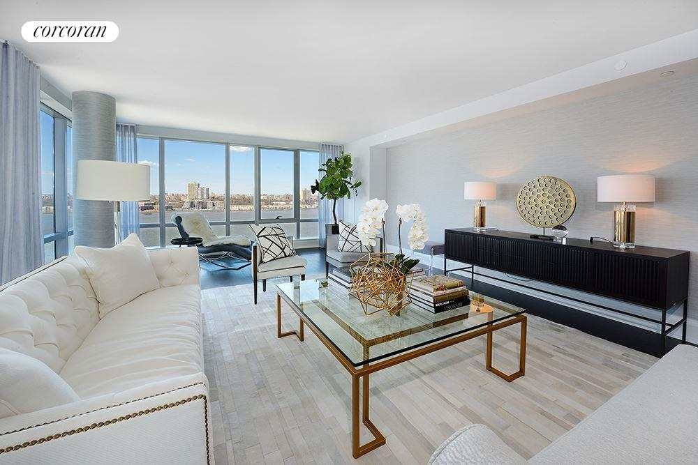 50 Riverside Blvd, 19E, Living Room