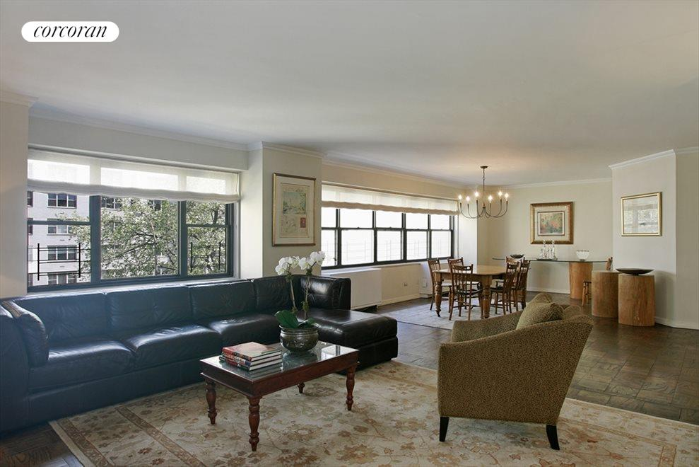New York City Real Estate | View 178 East 80th Street, #3ABC | Living Room / Dining Room