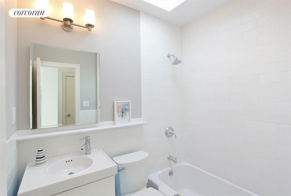 New Skylit Bathroom