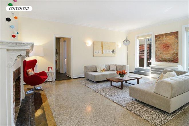 321 West 78th Street, PH10B, Living Room