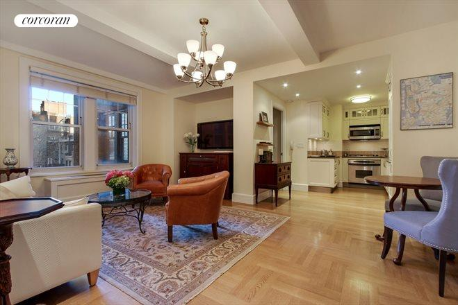 27 West 72nd Street, 507, Living Room