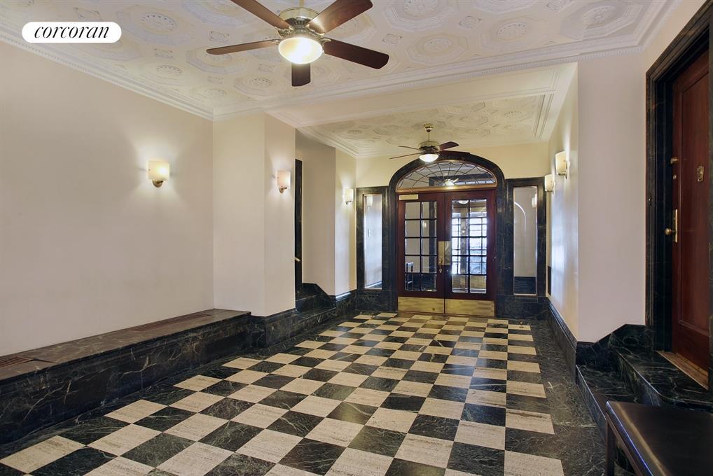 Charming Prewar Lobby