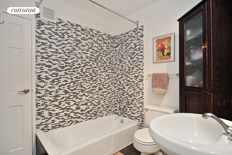 Renovated with Slate Floors & Glass Tiling