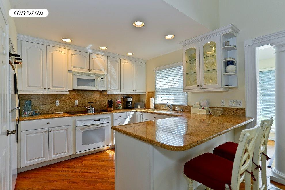 Granite counters in the Efficient kitchen