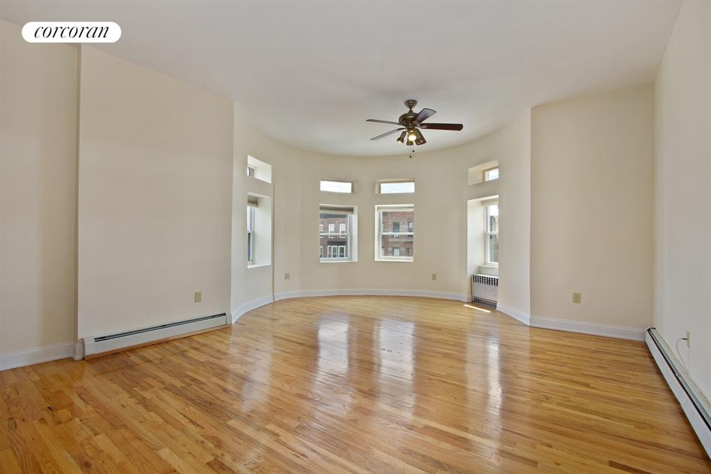 743 Greene Avenue, 3, Living Room