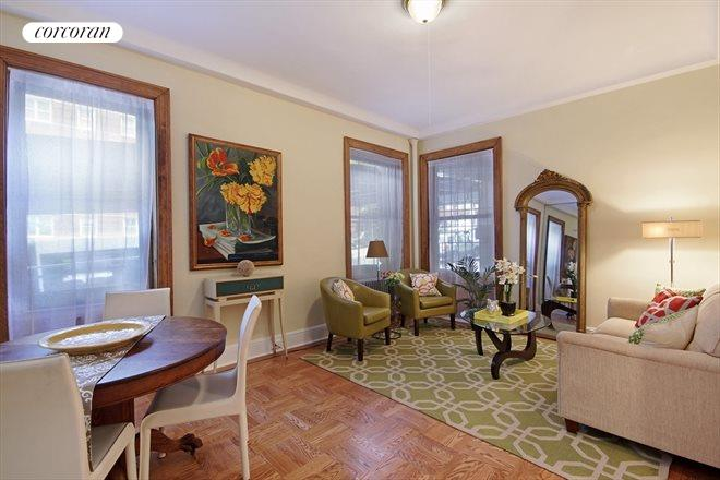 67 Riverside Drive, 1C, Living Room