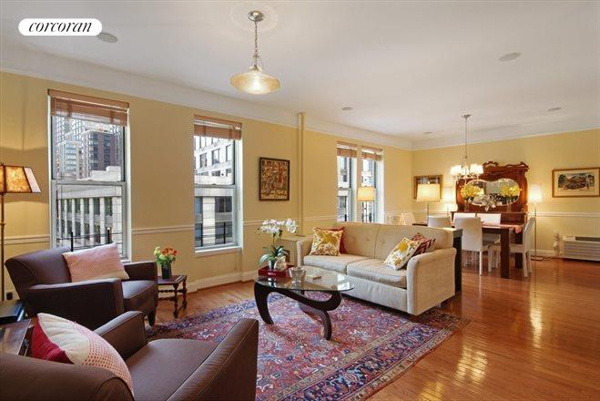 345 West 70th Street, 4A, Living Room
