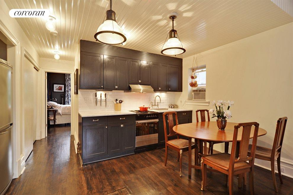 Nicely renovated including the hidden dishwasher.